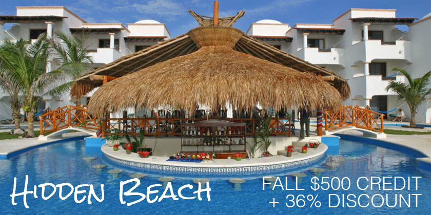 Hidden Beach Fall Credit Sale
